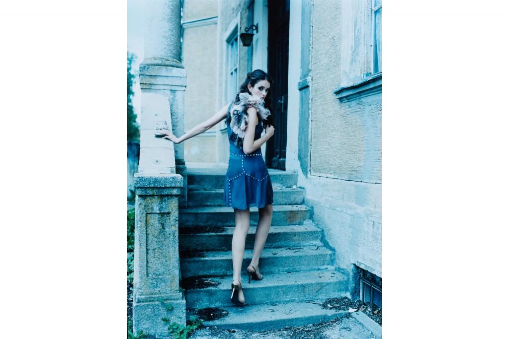 Fashion Editorial by photographer Arno AlDoori for Freundin Magazine