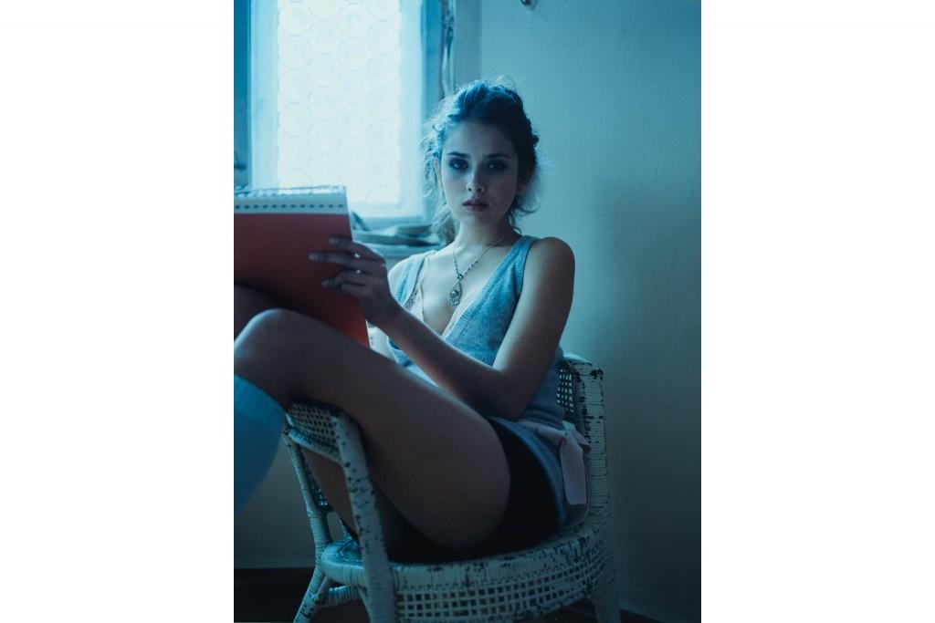 Fashion Editorial photographed by Arno AlDoori for Freundin Magazine
